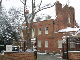 Schopwick Place in the Snow